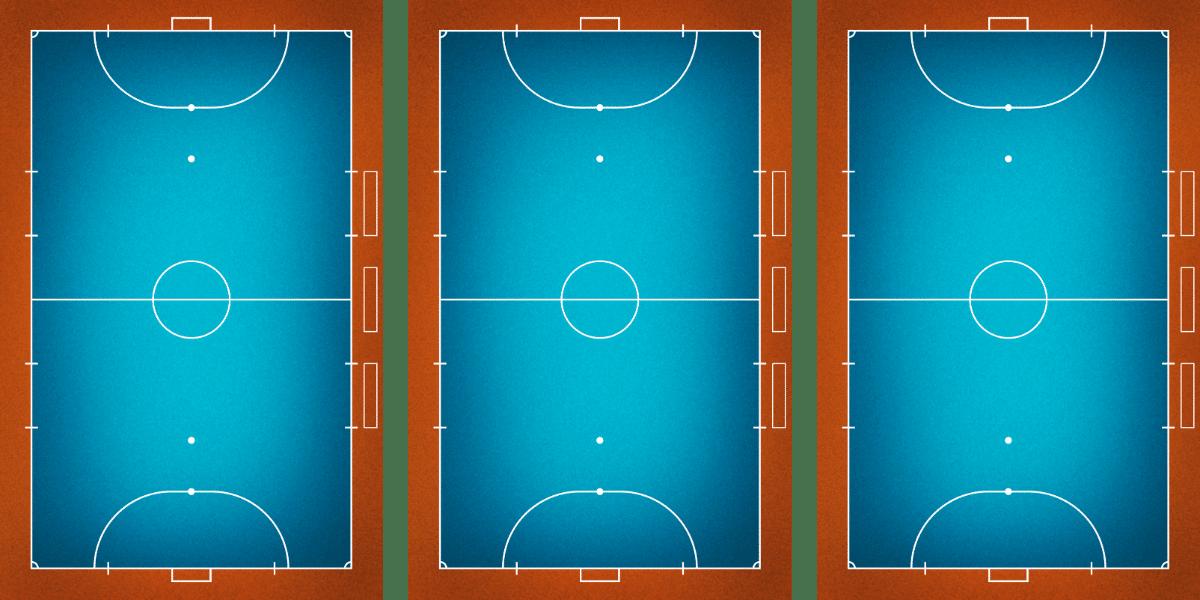 3 court configuration